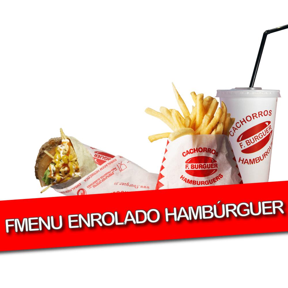 Fmenu Enrolado Hambúrguer